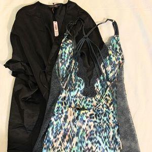 Victoria's Secret robe nightie set new